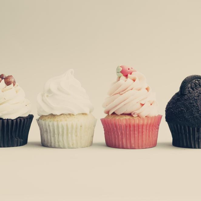 shutterstock_Hipster cupcakes